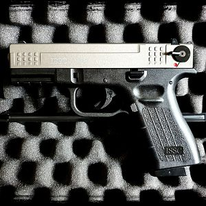 ISSC M22 Titan (Stainless) - PTB 940 - 9mm P.A.K. - made in Austria